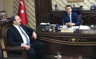 Milletvekili Özcan Başsavcı Doğan'ı ziyaret etti