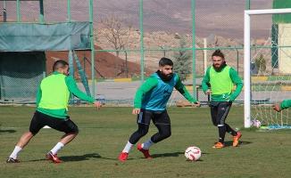 Şanlıurfaspor, Karşıyaka hazırlıklarını sürdürüyor