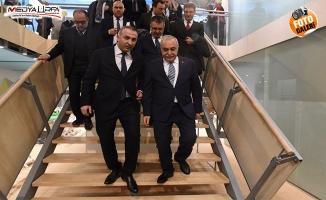 TÜKETBİR Başkanı Tunç, Fakıbaba'nın Almanya ziyaretine eşlik etti