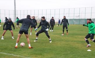 Urfaspor'da Niğdespor hazırlıkları sürüyor