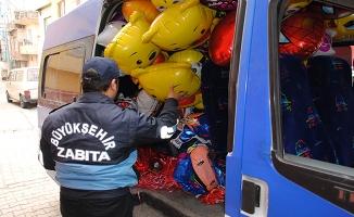 Zabıtadan Kaçak Balon Üretim Tesisine Operasyon