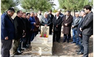 Abdullah Balak, mezarı başında anıldı