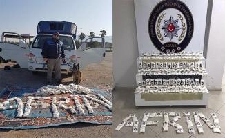Adana'da 250 bin uyuşturucu hap ele geçirildi