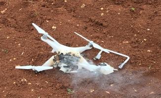 """Afrin'de teröristlerin """"drone""""una geçit yok"""