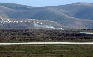 Afrin'e ilerlemeye çalışan terörist gruplar geri çekildi