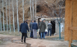 Aksaray'da yanmış erkek cesedi bulundu