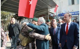 Bakan Fakıbaba, PÖH timini Afrin'e uğurladı