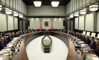 Bakanlar kurulu toplandı