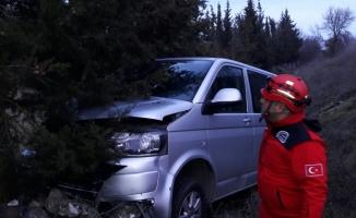 Balıkesir'de trafik kazası: 13 yaralı