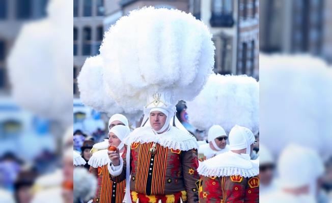 """Belçika'da """"Binche Karnavalı"""" kutlandı"""