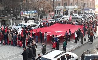 Birecik'te Kamu-Sen'den Zeytin Dalı Harekatı'na destek