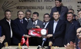 CHP Mustafakemalpaşa ilçe binası açılışı