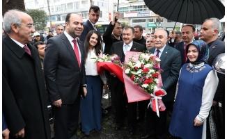 Eroğlu ve Fakıbaba, Büyükşehir Belediyesi'nde