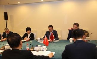 Gümrük ve Ticaret Bakanı Tüfenkci Çin'de