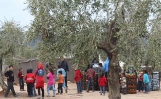 İHH'dan Burseya Dağı ve çevresine gıda yardımı