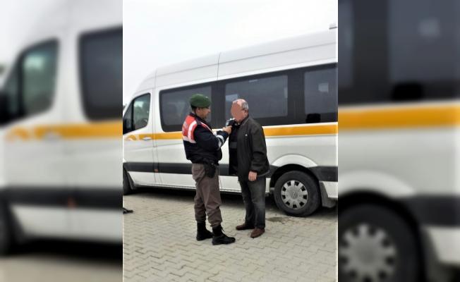Manisa'da okul servisi sürücüsü alkollü çıktı