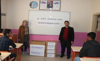 Öğrencilerden Zeytin Dalı Harekatı'na destek