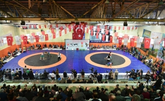 Şalvar Güreşi Dünya Kupası Kahramanmaraş'ta yapıldı