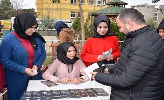 Siverek'te lise öğrencisi şiir kitabı çıkardı
