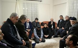 TBB Başkanı Feyzioğlu'ndan şehit ailesine taziye ziyareti