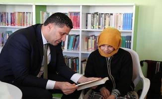 Urfa GHSİM'den okul kütüphanesine destek