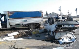 Viranşehir'de trafik kazası: 3 yaralı