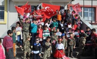Anasınıfı öğrencilerinden Zeytin Dalı Harekatı'na destek