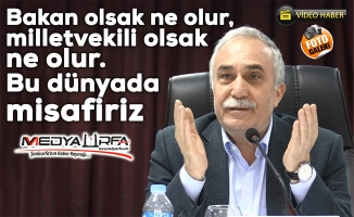 Bakan Fakıbaba Suruç'ta muhtarları dinledi