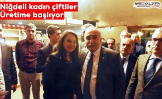 Bakan Fakıbaba, Niğdeli üreticilerle buluştu