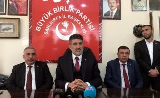 BBP'li Çayır Urfa'da konuştu: İttifak iyi bir yöntem