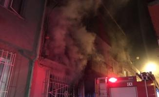 Bursa'da elektrikli ısıtıcı yangına neden oldu