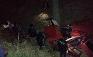 Düğün yolunda trafik kazası: 1 ölü, 3 ağır yaralı