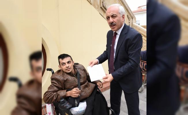 Engelli öğrencilerden Zeytin Dalı Harekatı'na anlamlı destek