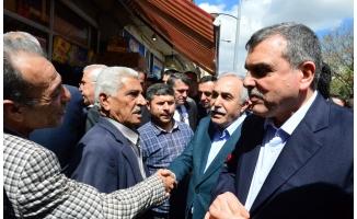 Fakıbaba Suruç'ta esnafın taleplerini dinledi