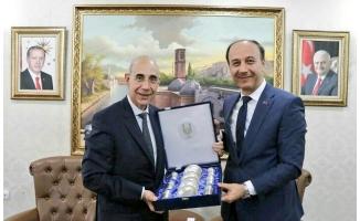 İtalya Ankara Büyükelçisi Şanlıurfa'da