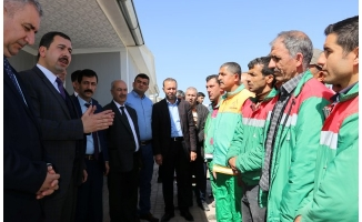Karaköprü'de taşeron işçiler için kadro sınavı başladı
