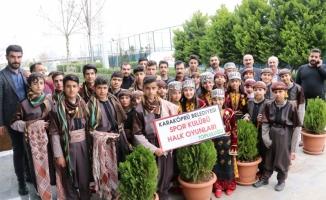 Karaköprü Folklor ekibi Şanlıurfa'yı temsil edecek