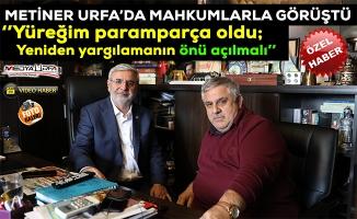 Mehmet Metiner'den MEDYAURFA.COM'a önemli açıklamalar