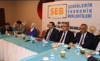 Şehirlerin Ekonomik Forumu Urfa'da düzenlendi