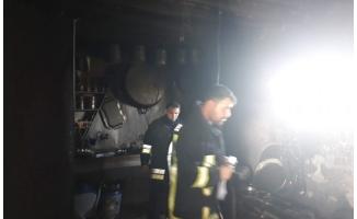 Siverek'te ev yangını