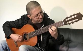 Suriyeli müzisyen müzik tutkusunu Türkiye'de sürdürmek istiyor