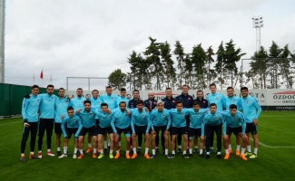 Ümit Milli Futbol Takımı'nda İsveç maçı hazırlıkları