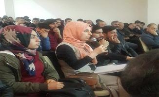 Urfa'da 'Avrupa'da Enerji Politikaları ve Arge Çalışmaları' konferansı