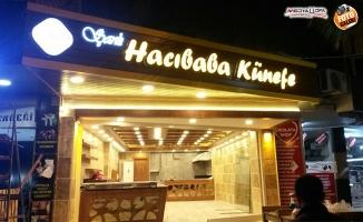 Urfa'da kadayıfın yeni adresi: Şanlı Hacıbaba