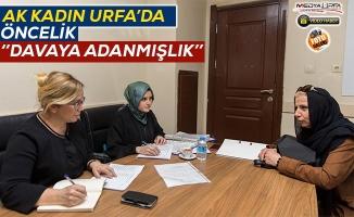 AK Kadın Urfa mülakatlarına yoğun ilgi