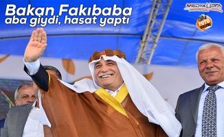 Bakan Fakıbaba ''Yem Bitkileri Ekim Projesi'' etkinliğine katıldı