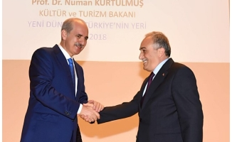 Bakanlar Fakıbaba ve Kurtulmuş Urfa'da konferansa katıldı