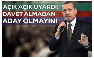 Erdoğan'dan önemli uyarı!