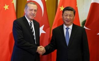 Erdoğan ile Çin Devlet Başkanı Şi telefonda görüştü