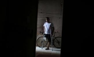 """""""Gazzeli genç Erdoğan'ın hediye ettiği bisikleti artık süremeyecek"""""""